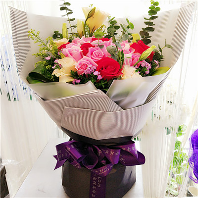 Fine Send Flowers To China Best China Online Local Flower Shop Delivery Personalised Birthday Cards Veneteletsinfo